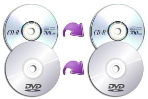 Copiare cd e dvd