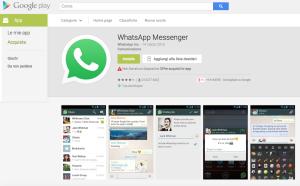 Whatsapp per Android