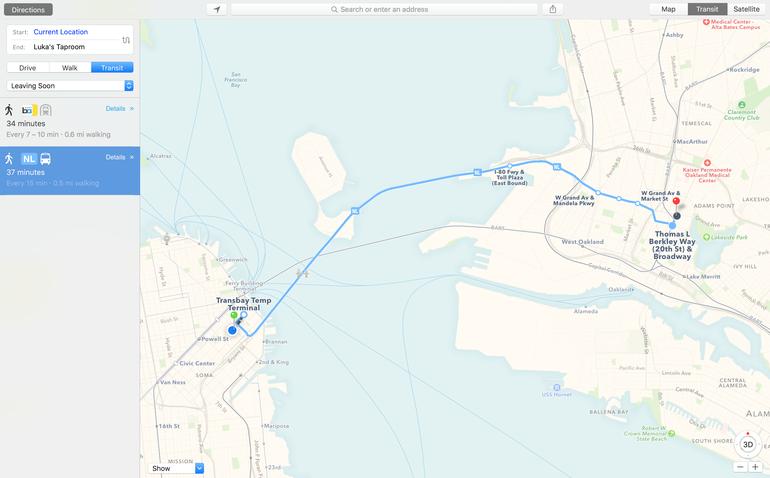 Mappe OSX El Capitan