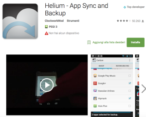 Helium App Backup Android