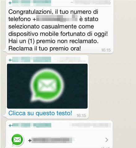 Virus su WhatsApp