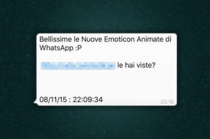 Nuovo virus Whatsapp